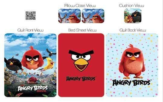 Angry Birds (انگری برد)روتختی مدل