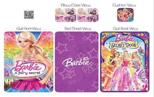 روتختی مدل باربی – Barbie