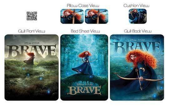 کاور لحاف مدل بریو – Brave