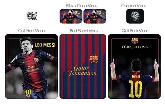 روتختی مدل مسی – Messi