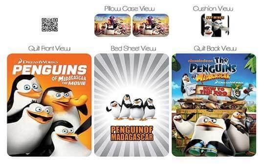 کاور لحاف مدل پنگوئن – Penguins