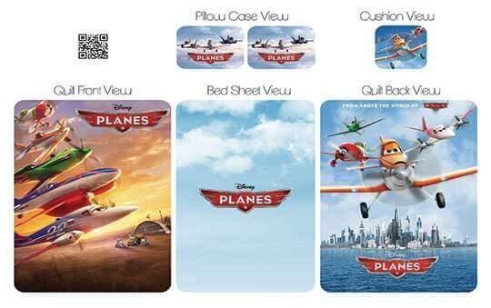کاور لحاف مدل پلانز – Planes