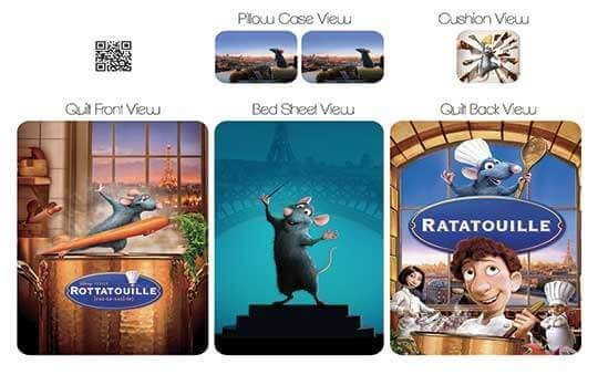 روتختی مدل راتاتویی – Ratatoui