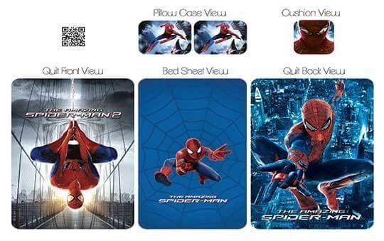 کاور لحاف مدل اسپایدرمن – Spider-Man