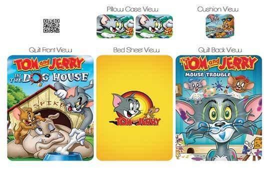 روتختی مدل تام و جری – Tom&Jerry