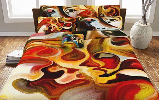 کاور لحاف مدل پینت – Paint