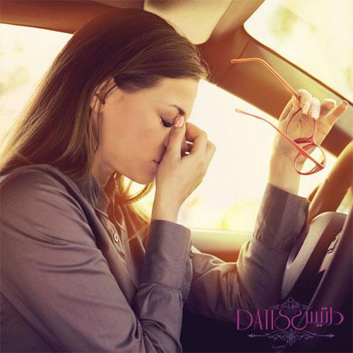 خواب آلودگی هنگام رانندگی