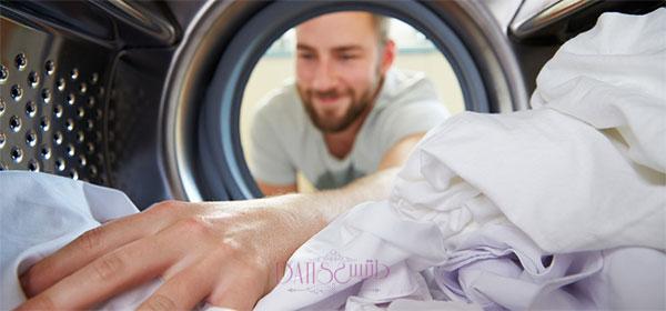 شستشو در ماشین لباس شویی