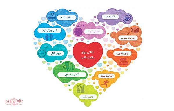 نکاتی برای سلامت قلب شما