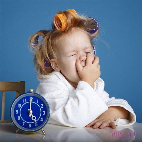 کمک به خواب کودکان