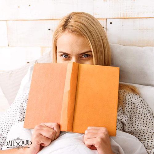 کتاب خواندن قبل خواب